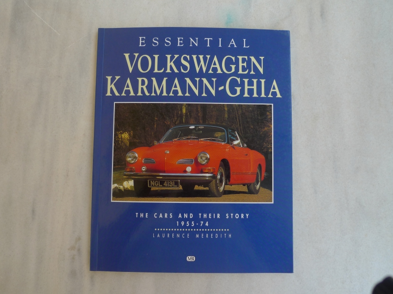 VW karmann ghia cover