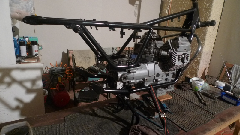 5 Engine whole frame assembled