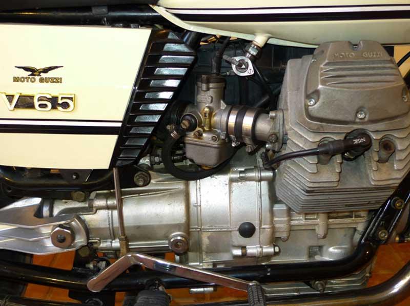 1 Motoguzzi V65 Police Florda