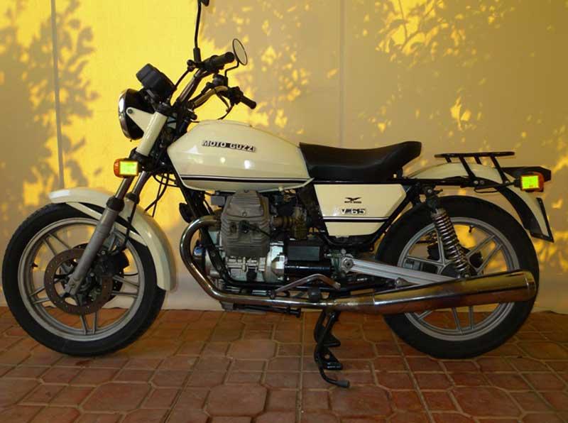 10 Motoguzzi V65 Police Florda