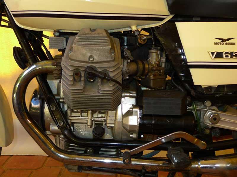 8 Motoguzzi V65 Police Florda