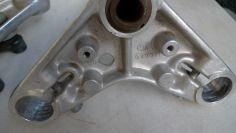Gilera new fork yoke Part 400419