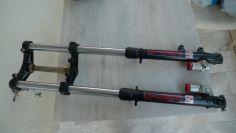 Gilera RV 125 PAIOLI complete front fork NOS