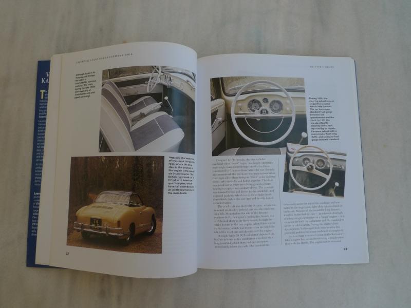 VW karmann ghia inside
