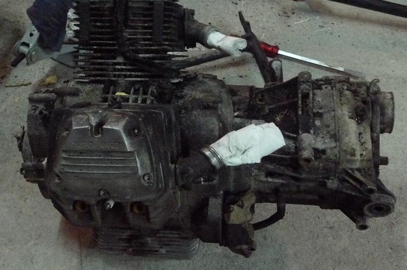 1 As found engine