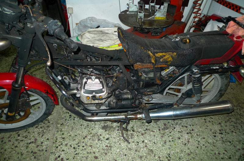 2 As found whole bike