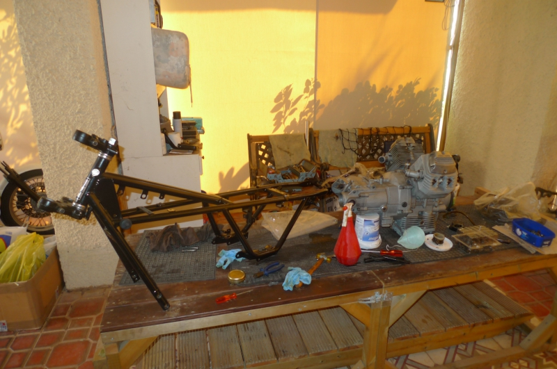 3 Engine frame
