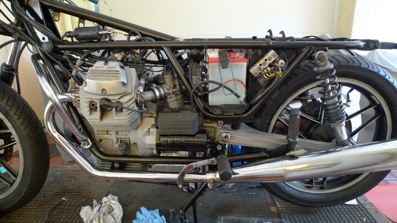 6 half assembled left side