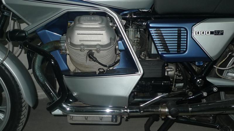 6 leftside engine