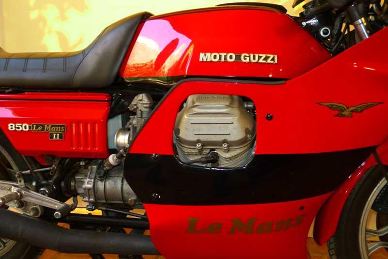 3 Motoguzzi 850LeMansII 1980