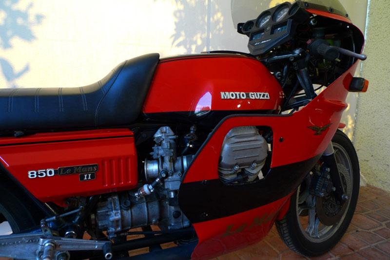 6 Motoguzzi 850LeMansII 1980