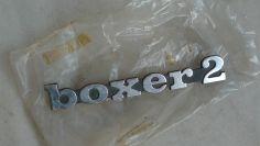 Piaggio Boxer 2 badge original NOS